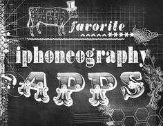 faded prairie's favorite iphoneography apps...