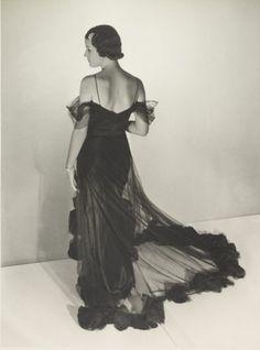 Abito da sera anni  30 - Un abito da sera in stile anni  30. df49eeb67ce