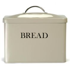 This bread bin from Garden Trading is rustic in style and big enough to store all of your bread, bread rolls and breakfast treats. It will keep you bread fresh and your worktops crumb free. The han...