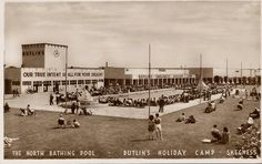 'Our True Intent Is All For Your Delight' - Glorious Pictures of the Skegness Butlin's - Flashbak Butlins Holidays, British Holidays, Seaside Holidays, Beer Garden, My Childhood Memories, Holiday Photos, View Image, Vintage Photos, Bathing
