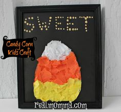 Candy Corn Kids Craft