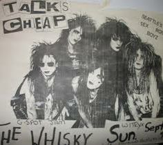 1980's glam rock flyers hollywood - Google Search