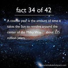 Cosmic year