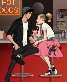 Jughead Jones and Betty Cooper (Riverdale) Bughead Riverdale, Riverdale Funny, Riverdale Memes, Riverdale Betty, Cat Kawaii, Archie Comics Riverdale, Riverdale Characters, Betty And Jughead, Film Disney