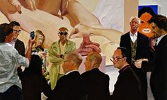Art Fair Booth #4 The Price by Eric Fischl