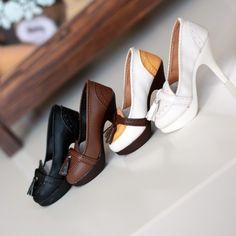 ● BJD 1/3 SD10、13、16 DD 复古流苏高跟鞋 现货-淘宝网