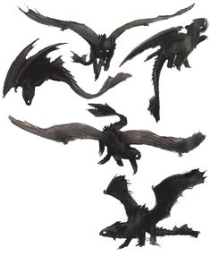 Ahh! I can't get enough of this 'How to Train Your Dragon' art!