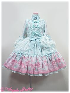 Angelic Pretty Romantic Rose Letter OP