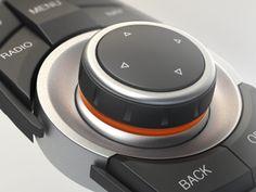 BMW iDrive Controller Close-Up