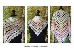 Halata Shawl pattern by Jasmin Räsänen