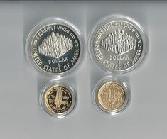 1987 US Constitution Gold 5 and Silver 1 Proof by COLLECTORSCENTER