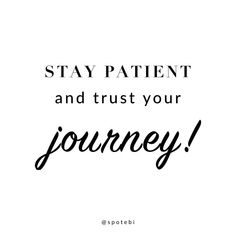 By nature, we are all impatient and want everything here and now. Changing our lifestyle is a process that requires determination, perseverance and learning all those skills takes time. So be patient and kind to yourself and focus on the journey instead of the end goal. Celebrate every small victory with pride and a sense of accomplishment! ❤️ #fitspo #motivation #inspiration spotebi.com
