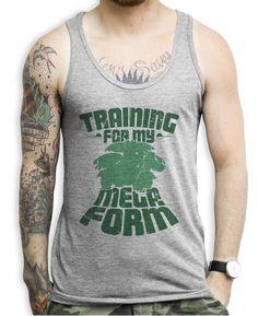 Training For My Final Form Venasaur Tank Tops