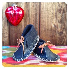 Baby Moccasin - Teenie Tiny Baby Feet!