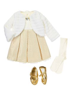 Gymboree baby girl holiday outfit