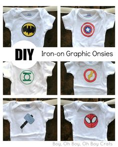 Get the best results for your DIY Iron-On onsies and t-shirts Baby Sewing Projects, Sewing For Kids, Sewing Hacks, Toddler Fashion, Kids Fashion, Harry Potter Baby Clothes, Chelsea Baby, Stencil Diy, Silhouette Cameo Projects