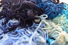 Each knot tell us millions of art stories, #Wearableart. Cada nudo cuenta un millón de historias de arte, arte para vestir.
