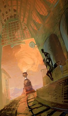The Art Of Animation, Mónico Chávez. Mmm, does anyone else think Ironforge when they see this?