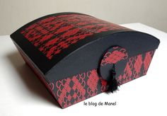 LES CARTONNAGES DE MANEL / LA BOITE SOUVENIRS Blog, Diy, Pretty Woman, Decor, Cartonnage, Wedding Ring Box, Ring Boxes, Cartonnage Tutorials, Sewing Box