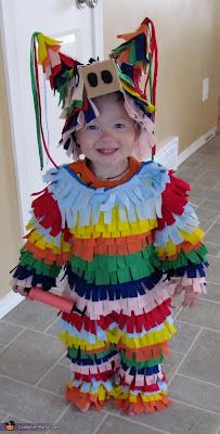 Pinata! Can't stand how cute this and how easy it would be to make!