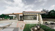 Casa parter 29 | Proiecte de case personalizate | Arhitect Gabriel Georgescu & Echipa Design Case, Beautiful Space, Home Fashion, House Design, Windows, Mansions, House Styles, Outdoor Decor, Spaces