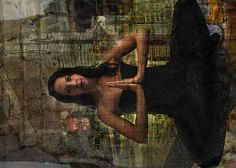 Kari sitting city background City Background, Mona Lisa, Artwork, Photography, Work Of Art, Photograph, Auguste Rodin Artwork, Fotografie, Artworks