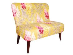 Out There Interiors is an Eclectic Interior Wonderland. Pastel Furniture, Luxury Furniture, Vintage Furniture, Home Furniture, Chaise Floral, Floral Chair, Contract Furniture, Lounge Seating, Settee