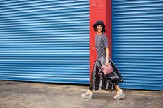 Yasmin Sewell knows her prints. 50 Breathtaking Snaps From Fashion Week #refinery29