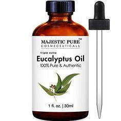 Majestic Pure Eucalyptus Essential Oil, 1 Fluid Ounce