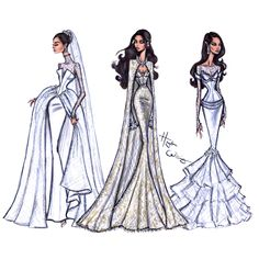 #MeghanMarkle Bridal collection by Hayden Williams #Bridal #RoyalWedding #Royal #Couture
