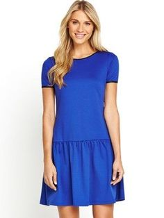 I've just found Dropped Waist Tunic, blue on #SnapFashion. What do you think?