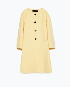 Image 8 of BELL SLEEVE COAT from Zara