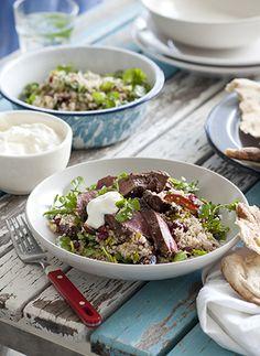 Persian Lamb with Orange Couscous Salad