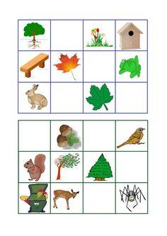 * Herfst: Bingo! Speelkaart 2-3