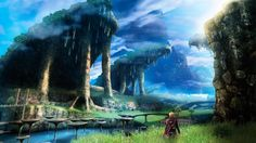 Xenoblade Chronicles 3DS. Ongoing playthrough. 20 hours+ early january. Blurry visuals but very good story and gameplay.