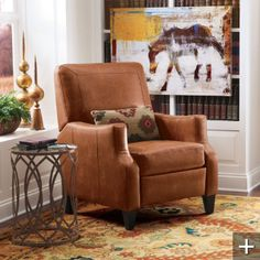 small recliner for a small place