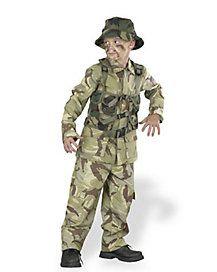 Kids Delta Force Soldier Costume