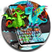 #dragons #babydragons #pets #ice #lava #keyboard #theme #cute #adorable #lovable #free #phone #android Download now for FREE the adorable dragons keyboard theme 2018 if you love baby dragons and the ice and lava battle on the background. Our creative designer developed this cute baby boy and baby girl dragons keyboard theme for all young and ardent souls that are inspired by the power and freedom of dragons. Cute Baby Boy, Cute Babies, Android Theme, Fire Dragon, Baby Dragon, Hand Type, Best Android, Our Baby, Design Crafts