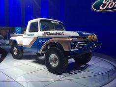 The truck belonged to Abatti Racing, a farming family out of Holtview, Calif., who are now on their third generation of competing in off-road truck races. Son Ben Jr., 20, currently competes in the Trophylite Race Series