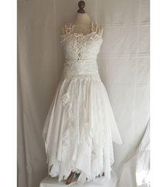 Fairy wedding dress.