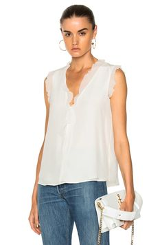 Shop for Alexis Jansen Top in White at FWRD. Free 2 day shipping and returns.