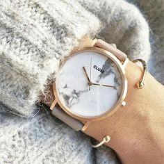 Heel gaaf horloge! #marmble #cluse #watch