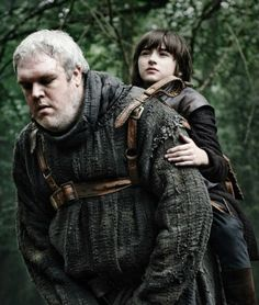 Game of Thrones - Hodor and Brandon