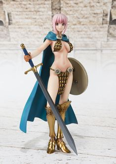 One Piece: Rebecca Figuarts Zero [Figure] by Bandai Chica Fantasy, Fantasy Girl, Comic Book Characters, Female Characters, Touka Wallpaper, One Piece Rebecca, Action Figure One Piece, Anime Toys, Anime Figurines