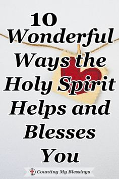 God knew we needed a Savior and He knew we needed an Advocate so He sent Jesus to save and the Holy Spirit to help us. Find out 10 ways He helps here... #HolySpirit #GodLoves #BibleStudy #Possiblities #CountingMyBlessings Christian Living, Christian Faith, Christian Women, Always Remember Me, When You Believe, Christian Encouragement, Before Us, Spirit Guides, Prayer Request