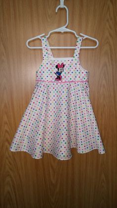 Minnie Mouse Dress, Infant Minnie Mouse Dress, Disney Dress, Infant Girls Dress, size 6-9 months by CEDSDesigns on Etsy