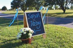 wedding sign weddin chalkboard. Topeka, KS www.designyourweddingday.com