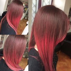 #hairstyle #red #capelli #fashonable