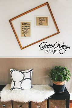 Normal is so boring - let's personalize the wall with quotes!