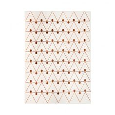 A6 Copper and Cream Dot Notebook at http://www.ohhdeer.com
